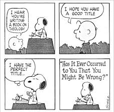 Snoopy you might be wrong